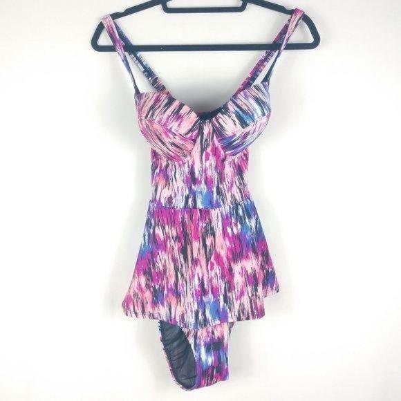 NEW Torrid Watercolor Swim Dress
